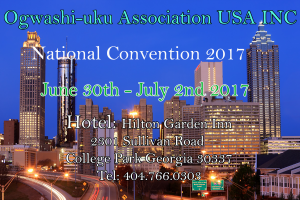 Ogwashi-uku Association USA National Convention 2017 @ Hillton Garden Inn